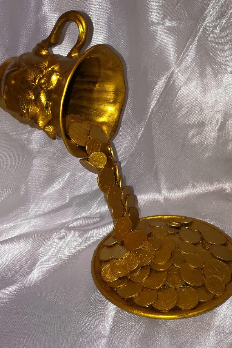 Картинки чашка с деньгами своими руками