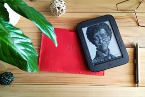 Шкіряний чохол для планшета, електронної книги - Опис