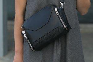 Шкіряна сумка через плече / кроссбаді - Опис