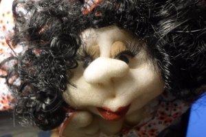 лялька на удачу Українка - Опис