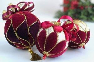 """Набір новорічних куль """"Крюшон"""""""