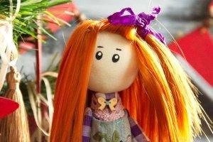 кукла ручной работы - Опис