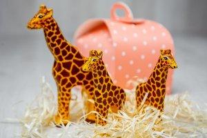 Робота Жирафи жирафик - дерев'яна іграшка