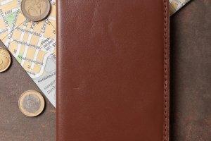 Обкладинка для паспорта (віскі) - Опис