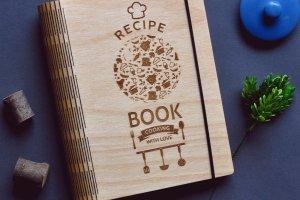 """Кулінарна книга """"Recipe book. Cooking with love."""" - ІНШІ РОБОТИ"""