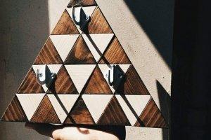 "Ключница деревянная ""triangle"" - Опис"