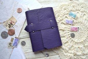 Фіолетовий софтбук. блокнот для дівчини. хлопця - Опис