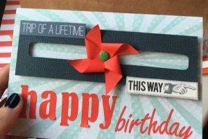 Робота З днем народження для мандрівника