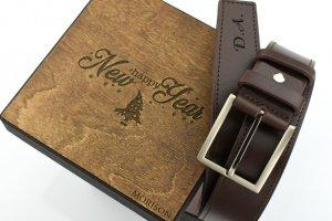 Мужской кожаный ремень, именной ремень, Подарок мужчине - ІНШІ РОБОТИ