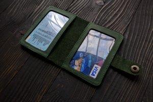 Обложка для ID паспорта. Натуральная кожа. - Опис