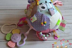 Развивающий мяч - игрушка для малышей - Опис