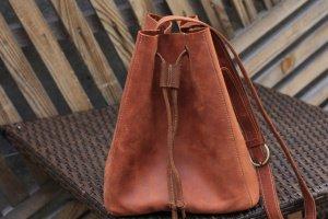 Шкіряна жіноча сумка ручної роботи