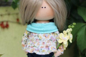 Лялька з орхідеєю - ІНШІ РОБОТИ