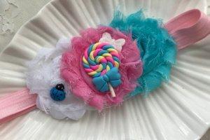 .Пов′язка цукерочка блакитна