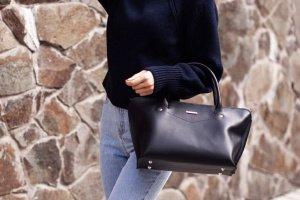 Жіноча сумка Midi Темно-синій - Опис