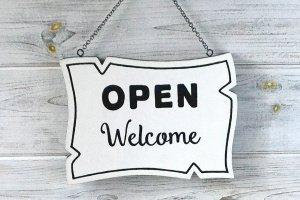 Робота Вивіска двостороння «Open/Closed»