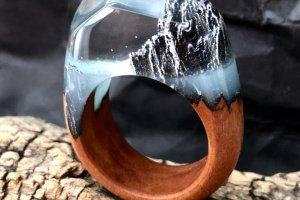 Работа Кольцо «Морское око»