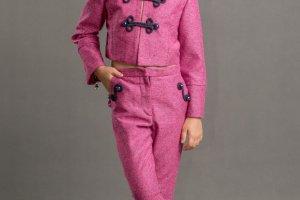 Дизайнерський костюм для дівчинки