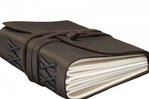 Шкіряний блокнот / блокнот шкіряний для записів / софтбук - Опис