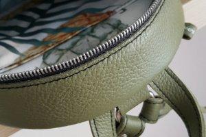 Рюкзак Tassel коричневий + оливка  - Опис