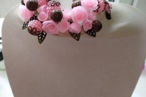 Вантажний браслет з трояндами - Опис
