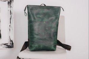 Рюкзак городской,  унисекс, рюкзак из кожи - ІНШІ РОБОТИ