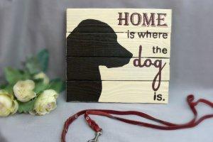 """интерьерное панно """"Home is where the dog is"""" - ІНШІ РОБОТИ"""