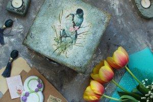 большая шкатулка Птичья Весна - ІНШІ РОБОТИ