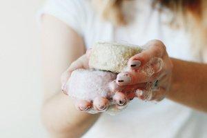 Твердий шампунь для волосся з пудрами нім та брахмі - ІНШІ РОБОТИ