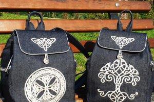 Робота Рюкзак з кельтськіми орнаментами