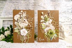 Свадебные открытки в стиле Эко - ІНШІ РОБОТИ