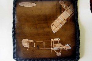 Кожаный кошелек самолеты - ІНШІ РОБОТИ