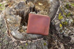 Дуже зручний і маленький гаманець зі шкіри ручної роботи - Опис