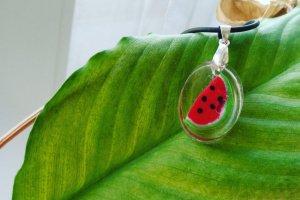 Кулон з ягодами Арбузик - Опис