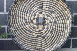 Тарелка на стену. Плетеная тарелка. Декор на стену Д-32см - Опис