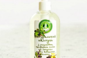 Робота Шампунь на оліях та відварі лопуха проти випадіння волосся