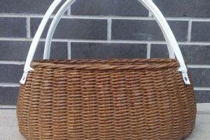 Плетеная сумка- корзина 37*21см - ІНШІ РОБОТИ