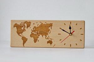 Годинники з масиву дерева - Опис