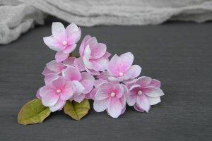 Шпильки з маленькими рожевими квітами - ІНШІ РОБОТИ