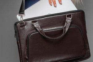 Кожаная сумка для ноутбука (Арт. 7003/1) - ІНШІ РОБОТИ