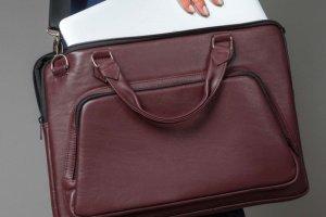 Робота Кожаная сумка для ноутбука (Арт.7004/1)