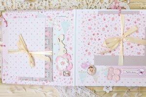 Детский фотоальбом для новорожденной девочки Little Star - Опис