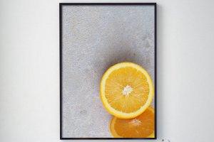 "Робота Фотопостер ""Апельсини"""