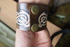Кожаный браслет Узор кельтский - Опис