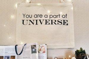 "Дизайнерська сумка-шопер ""Universe"" - Опис"