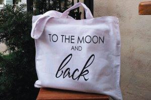 "Дизайнерська сумка-шопер ""to the moon and back"" - ІНШІ РОБОТИ"