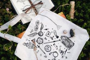 """Робота Дизайнерська сумка-шопер """"Harry Potter"""""""