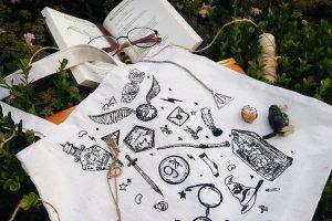 """Дизайнерська сумка-шопер """"Harry Potter"""" - Опис"""