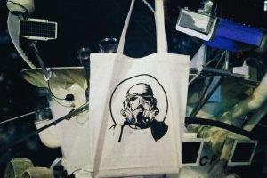"Робота Дизайнерська сумка-шопер ""Star wars"""