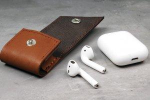 Чохол зі шкіри для навушників AirPods - Опис